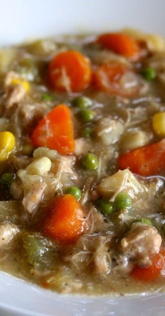 slow cooker chicken stew | Cooking | Pinterest