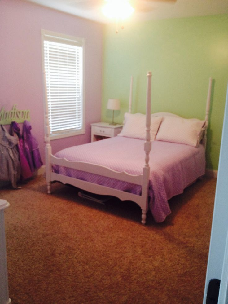 Purple And Green Girls Room For The Home Pinterest