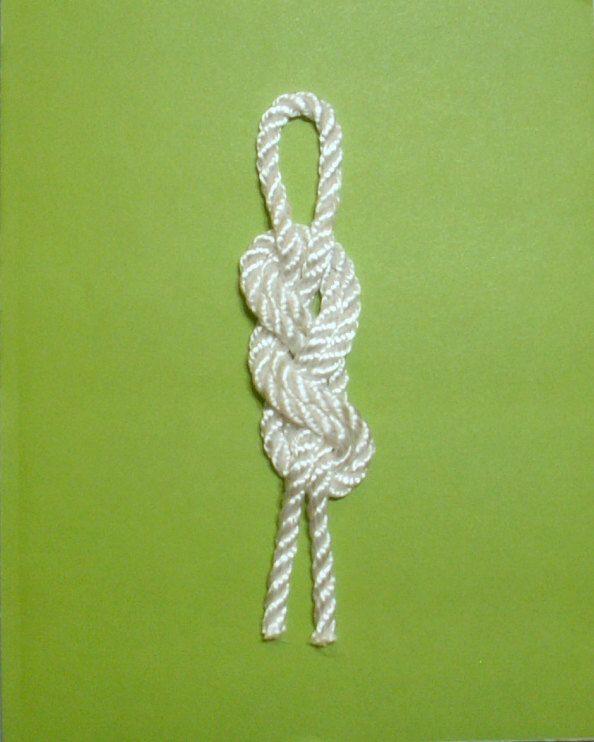Nautical Decor - Set of 3 Decorative Rope Knots mounted on ...