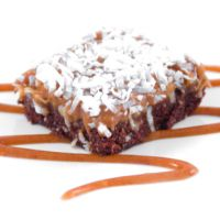 Raw Caramel Coconut Brownies | Desserts and Sweets | Pinterest