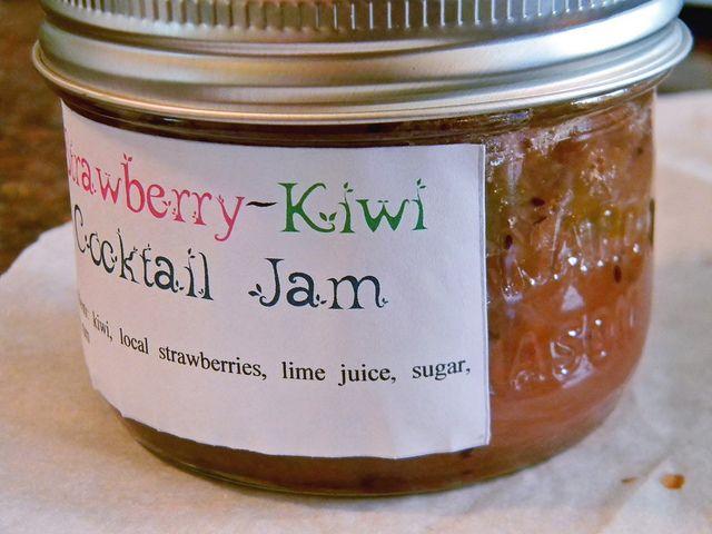 Strawberry-Kiwi Cocktail Jam: Toast Topper #31