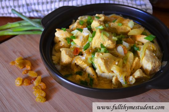 Chicken Curry in a Hurry (in under 20 minutes)