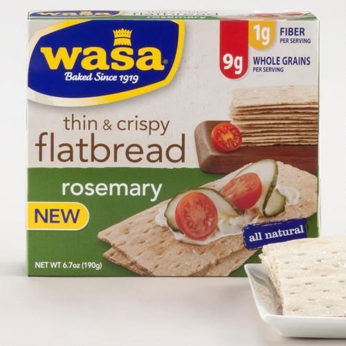 Wasa Thin and Crispy Rosemary Flatbread