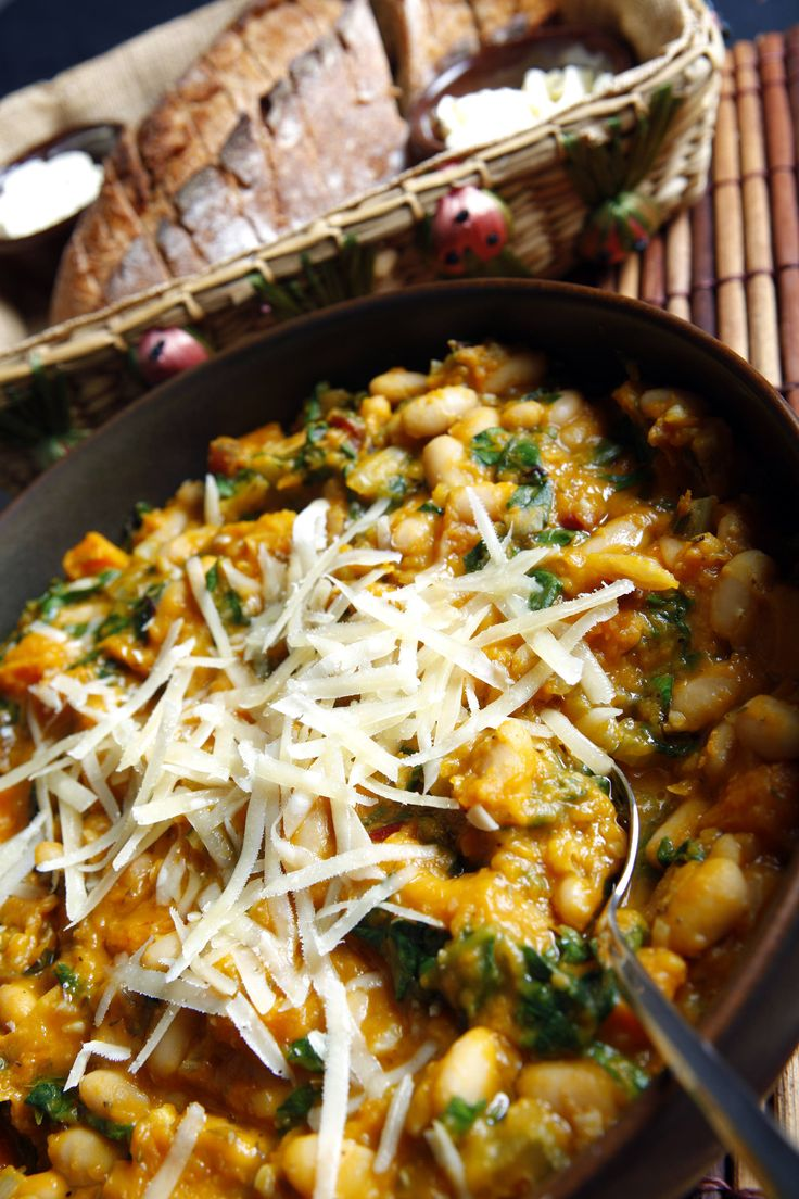 ... white bean, butternut squash and Swiss chard stew | C-J Recipes
