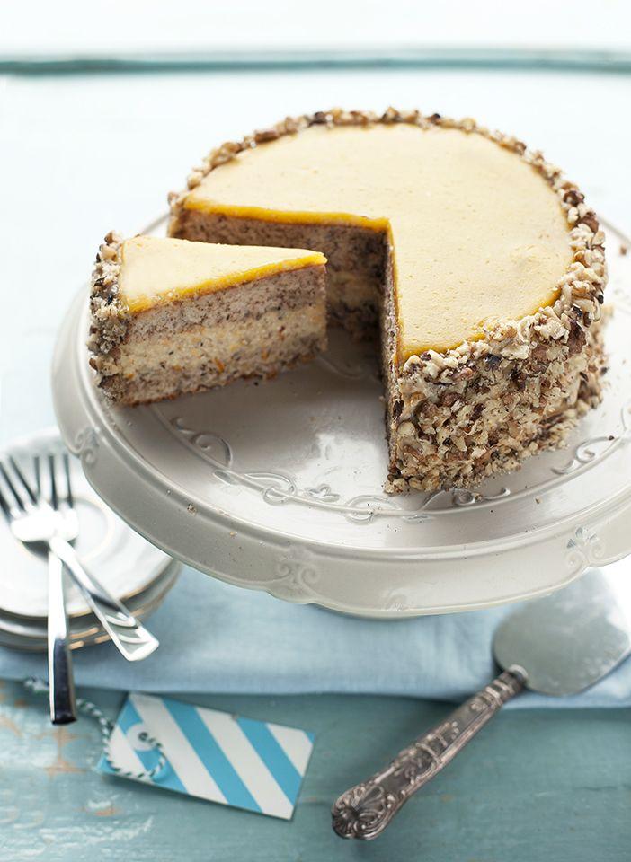 walnut-orange cake   Buttercream Cakes   Pinterest