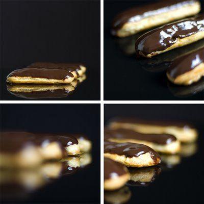 Chocolate EclairOh Pierre Recipe — Dishmaps