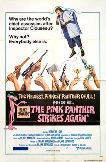 Posteritati: PINK PANTHER STRIKES AGAIN, THE 1976 U.S. 1 sheet (27x41)