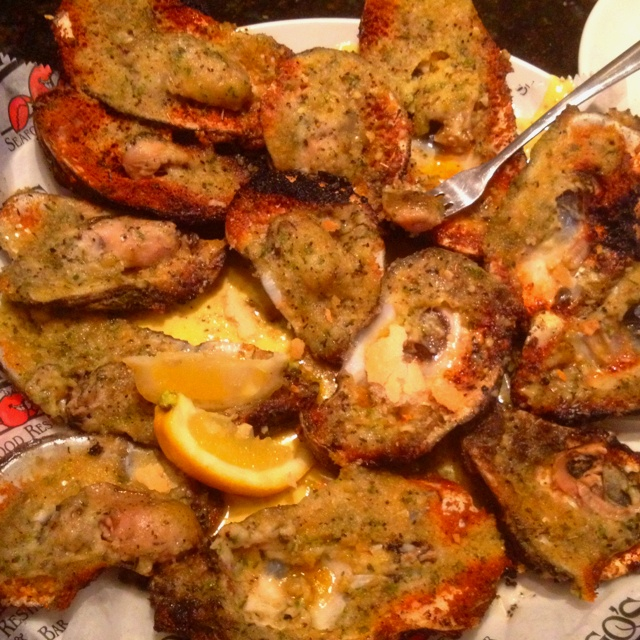 Grilled oysters at Drago's | favorite recipes | Pinterest
