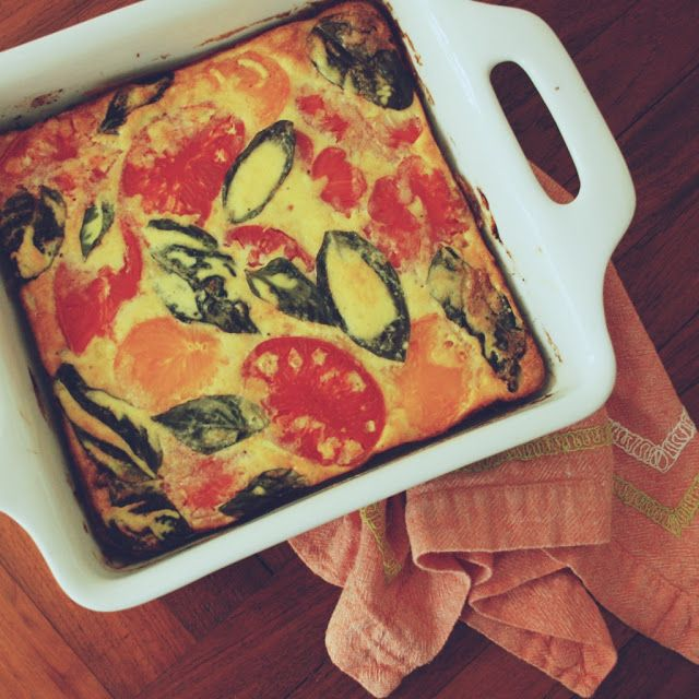 Heirloom Tomato Frittata | Delicious dinners to try | Pinterest