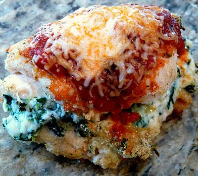 Chicken Rollatini with Spinach alla Parmigiana!!
