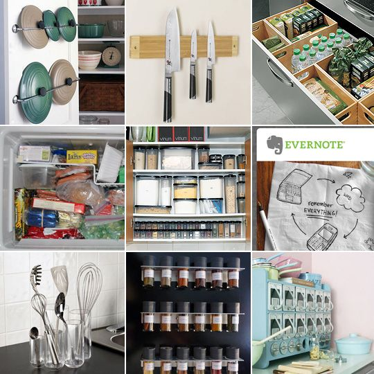 20 tips and tools for kitchen organization and storage for Kitchen organization ideas