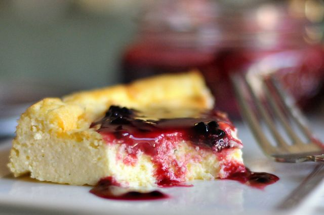 Creamy Ricotta Cheesecake...heaven! | Yummy | Pinterest