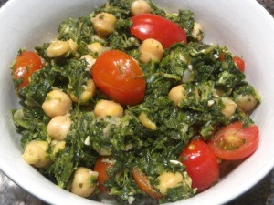 stir fry: I love the nuttiness of the chickpeas, the tang of the lemon ...