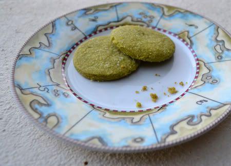 Matcha (Green Tea) Shortbread Cookies | Cookies | Pinterest