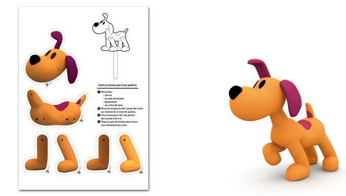Puppets for kids: Loula´s marionette