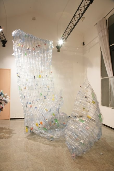 More plastic bottle art art pinterest for Plastic bottle art