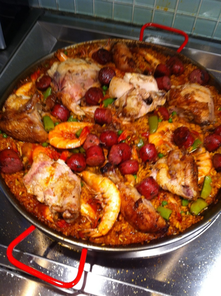 Seafood, chicken and Chorizo Paella | Mama Tong's Cookbook! | Pintere ...