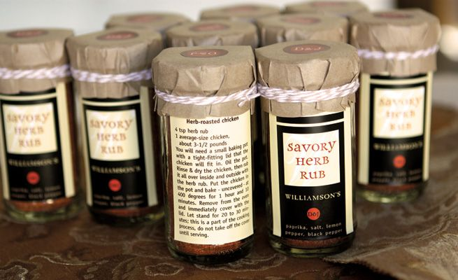 Savory Herb Rub for Roasted Chicken #herbs #mix #chicken #recipe #gift ...
