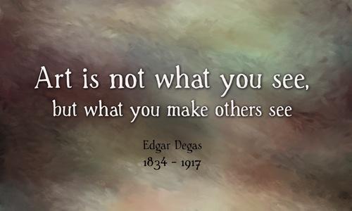 Edgar Degas Quotes QuotesGram