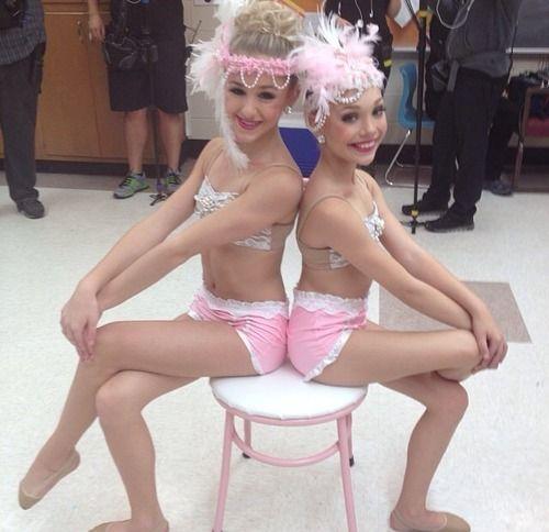 Chloe and maddie dance moms