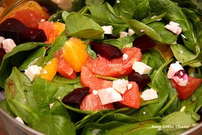 Roasted beets with Citrus and Feta, a great year round salad that ...