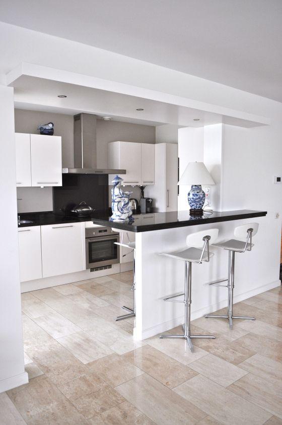 Ikea Metod Keuken Installeren : Witte Keuken Zwart Werkblad : hoogglans witte design keuken met zwart