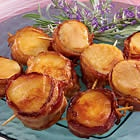 Bacon wrapped scallops | Appetitizer Recipes - | Pinterest