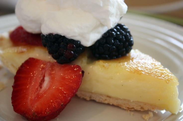 Navine Creme Brulee Pie | sweets | Pinterest