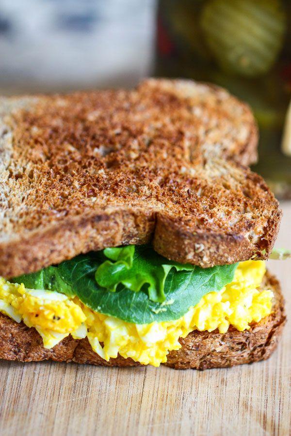The Perfect Egg Salad Sandwich-Tasty Sandwich Recipe Ideas