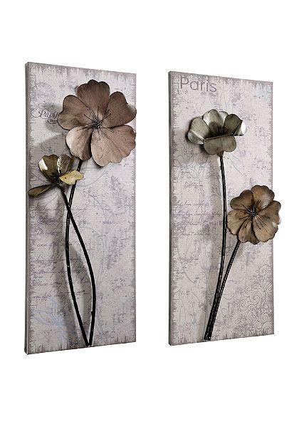 wanddecoratie metaal. Black Bedroom Furniture Sets. Home Design Ideas