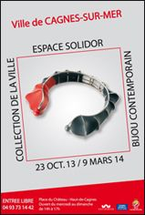 Cagnes sur Mer - espace Solidor - collection de la ville  http://www.cagnessurmer.fr/culture/exposition_fonds_permanent/affiche.jpg