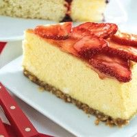 Lemon Cheesecake with Gingersnap Crust - Bon Appétit