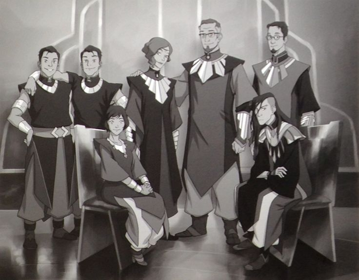 Suyin Beifong's Family, The dude on the top right no longer exists in my eyes.