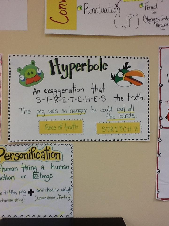 writing hyperbole