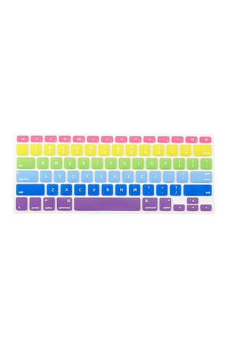 Rainbow Keyboard Cover | FOREVER21 - 1000061464