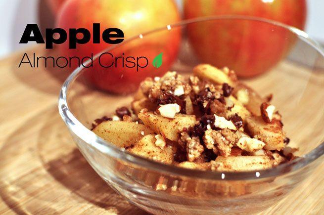 Apple Almond Crisp | Health Nut | Pinterest
