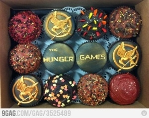 Hunger Games Cupcakes by LOVEMILY