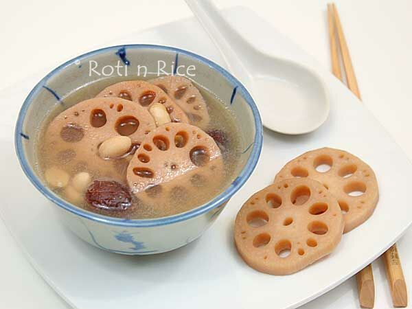 Lotus Root and Peanut Soup | Recipe