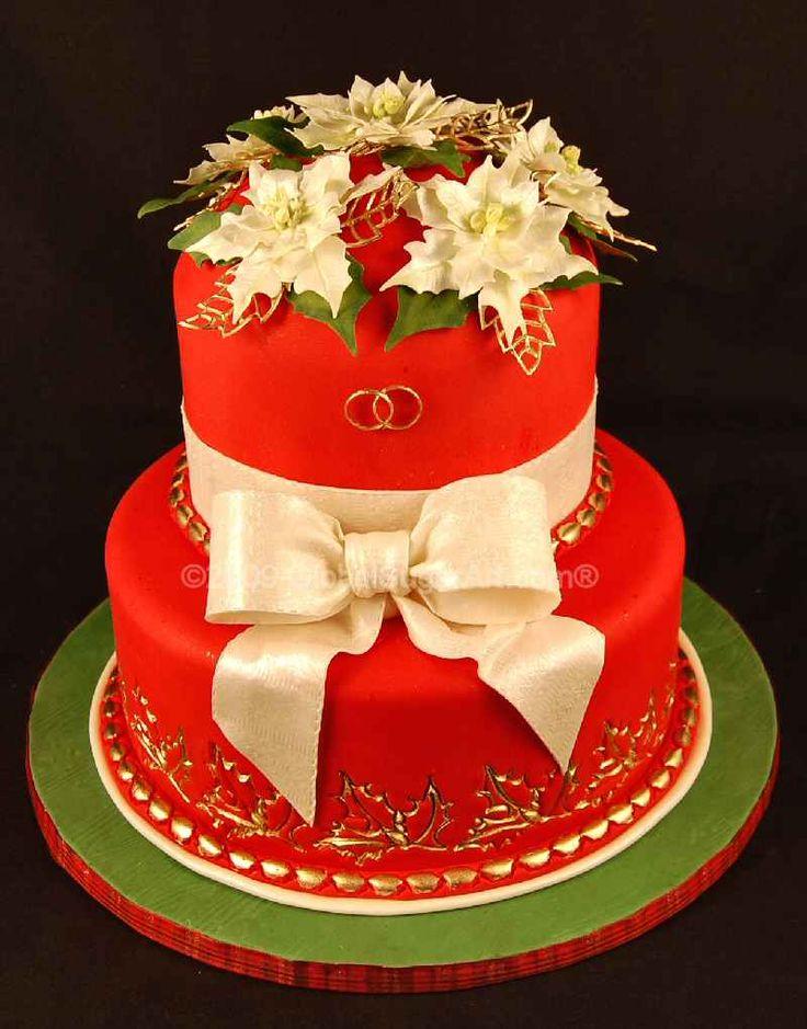 Beautiful Christmas Cake Images : Beautiful Christmas Cake Cakes Pinterest
