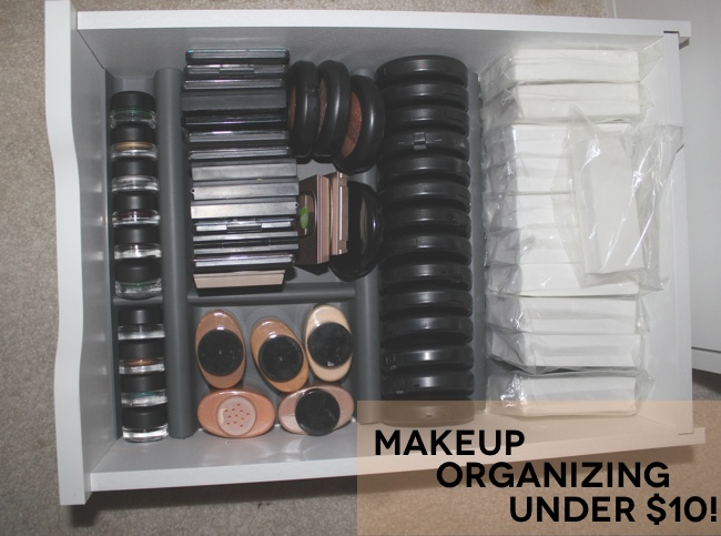 Makeup drawer organizer from ikea my diy pinterest Makeup drawer organizer ikea