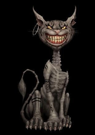 What Was The Cheshire Cat S Name