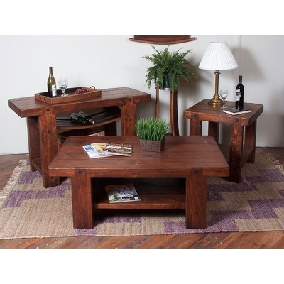 1300 2 Day Designs, Inc Russian River Coffee Table Set
