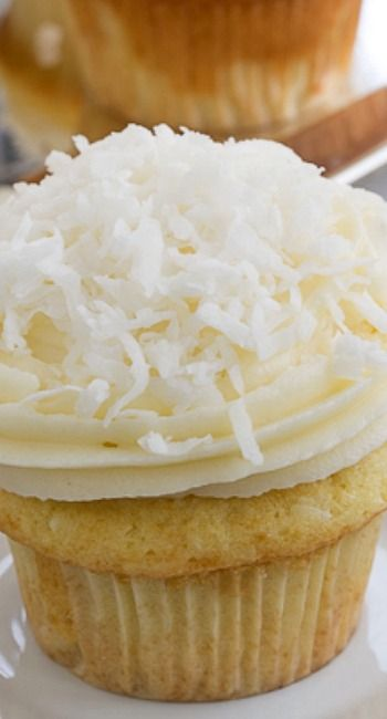 Coconut Cupcakes #HolidayFoodParty | Recipe