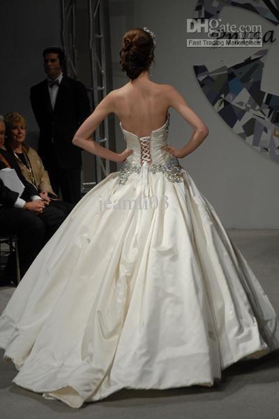 Pnina tornai wedding dresses 318055 satin sweetheart for Pnina tornai corset wedding dresses