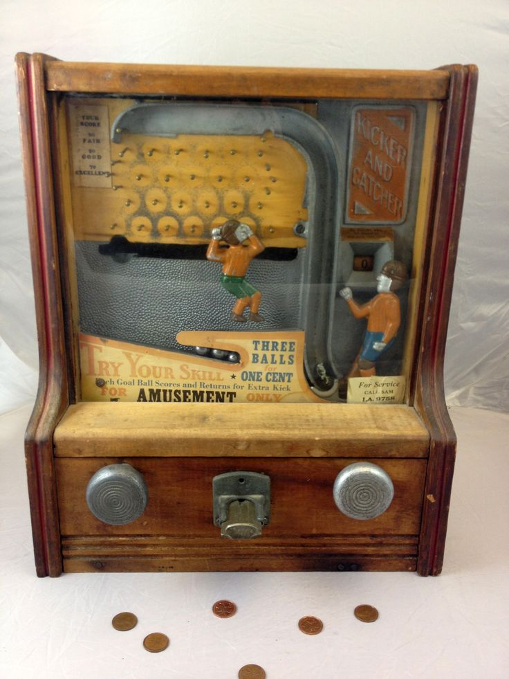 penny arcade coin machines