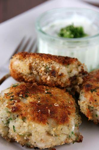 Cod Fish Cakes   {recipes}   Pinterest
