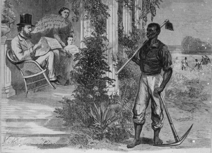 the reconstruction era gave african americans their freedom Americans 2 congressional reconstruction restricted civil-rights for african-americans and gave former confederate states greater control over their.