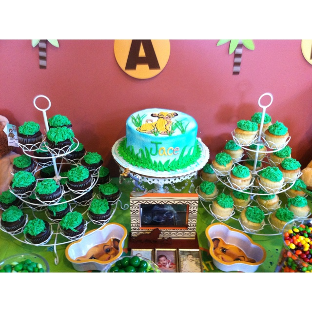baby simba baby shower first birthday lion king pinterest