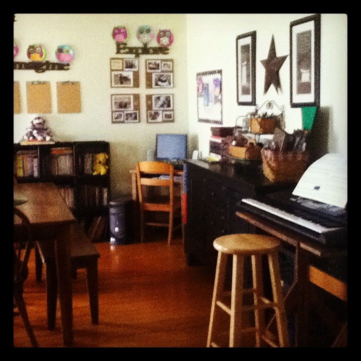 our homeschool dining room new home pinterest