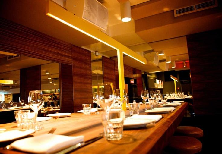 Rosalie restaurant bar la cuisine italienne moderne de for Cuisine moderne montreal